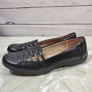Life Stride Dresden Faux Leather Flats Sz 8.5W